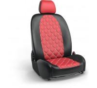 Чехлы на сиденья в дизайне ромб для Toyota Corolla Verso