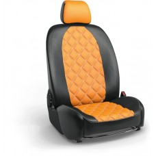 Чехлы на сиденья в дизайне ромб для Ваз 2107