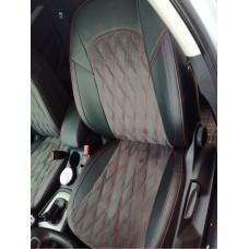 Чехлы на сиденья в дизайне ромб для Audi Q3