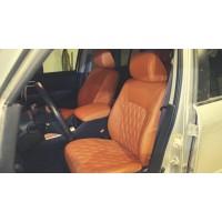 Чехлы на сиденья в дизайне ромб для Honda Pilot 2