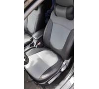 Авточехол в классическом дизайне для Kia Cerato 2