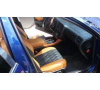 Чехлы на сиденья в дизайне ромб для Lexus GS II 1998 г.в.