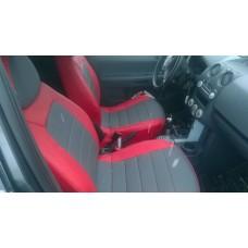 Авточехол в классическом дизайне для Mitsubishi Colt VI