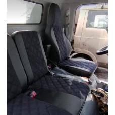 Авточехлы в дизайне ромб для Mitsubishi Fuso Canter 2012-2019