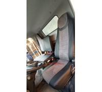 Авточехлы для Mitsubishi Fuso Canter серая алькантара