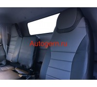Чехлы для Mitsubishi Fuso Canter evro 5 в классическом дизайне