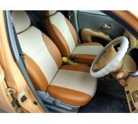 Авточехол в классическом дизайне для Nissan March (K12)