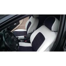 Авточехлы из алькантары для Peugeot 407