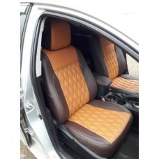 Оригинальные авточехлы ромб для Toyota Corolla 11 с 2012-2018 седан (E160, E170, E180)