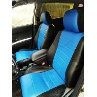 Авточехол в классическом дизайне для Toyota Corolla Verso