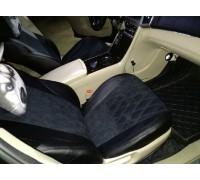 Чехлы на сиденья в дизайне ромб для Toyota Venza