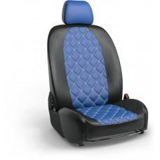Чехлы на сиденья в дизайне ромб для Volvo S-60