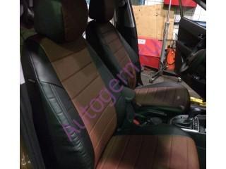 Hyundai Creta - Чёрный/коричневый перф